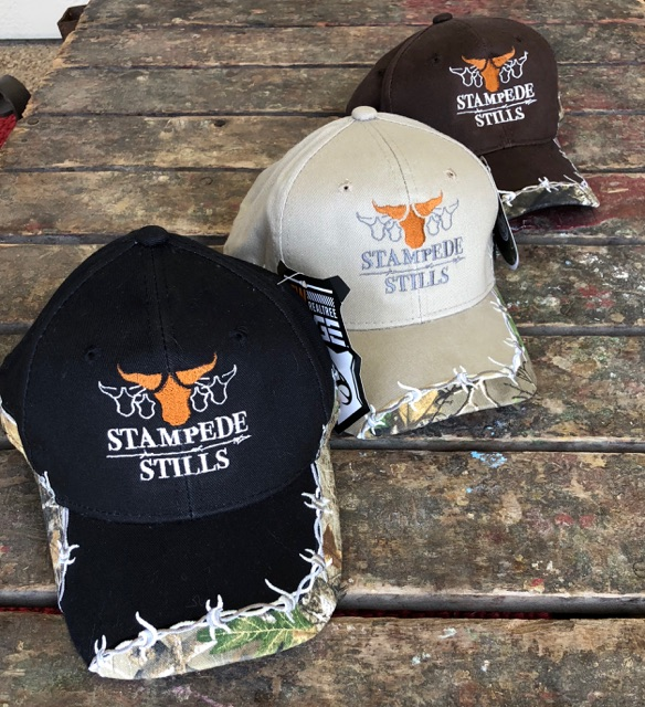 Barbwire Stampede Stills Hats