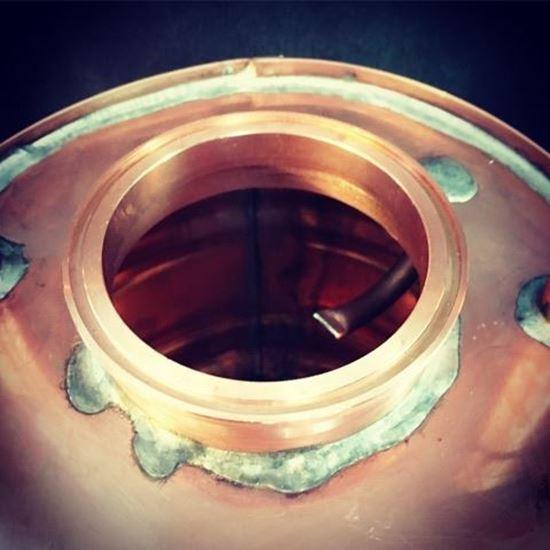 Stampede Stills Copper Thumper Doubler Infusion Hook