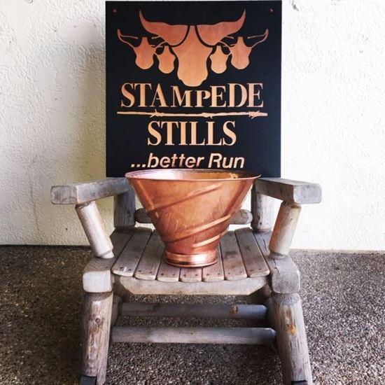 """12"""" Copper Mash Funnel with 4"""" tri-clamp fitting (1.5 gallon)"""