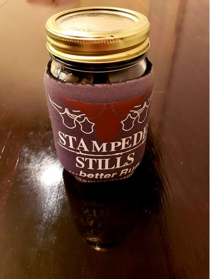 Stampede Stills Pint Jar Coozie ball mason kerr jar