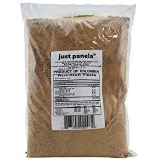 Just Panela Sugar Cane Unrefined Organic, 55 lb
