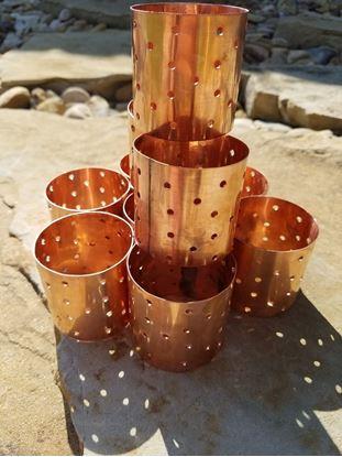 "Stampede Stills 2"" Copper Tea light diffuser"