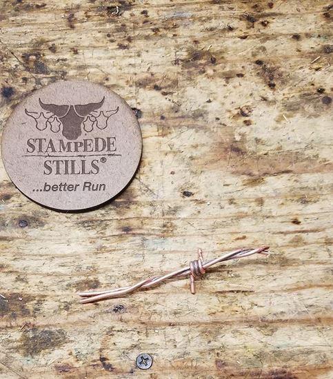 Stampede Stills Copper Barbed Wire Worm Pecker (Coon Pecker)