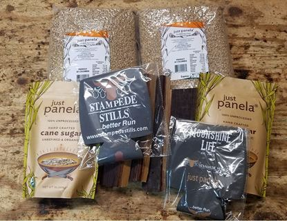 Stampede Stills Just Panela, Wood, and Coozie Bundle