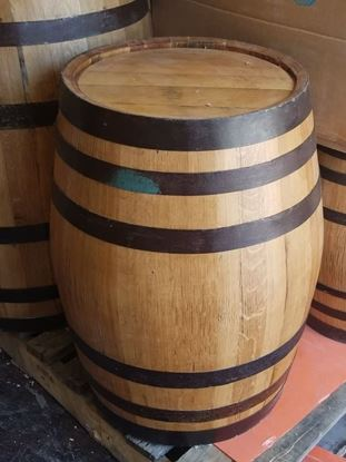 New, Unused 15 Gallon Distillery Oak Aging Barrel with medium char