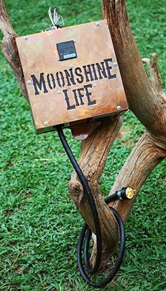 Stampede Stills MOONSHINE LIFE™ 220V Custom STAMPEDE LOGO Electric SSR Heating Controller with 5500W Element and Cord
