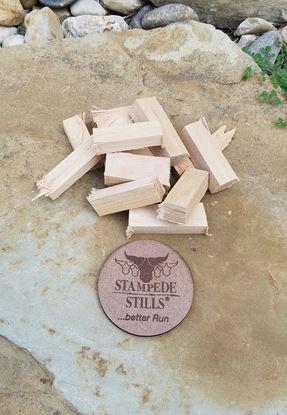 Stampede Stills Hickory wood for Aging and Smoking (2oz)