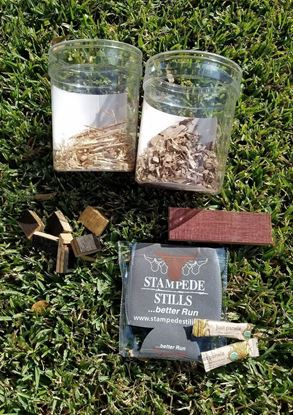 BLACK FRIDAY WOOD BUNDLE Sampler for jar aging or bbq smoking HICKORY, WALNUT, AMERICAN OAK, FRENCH OAK