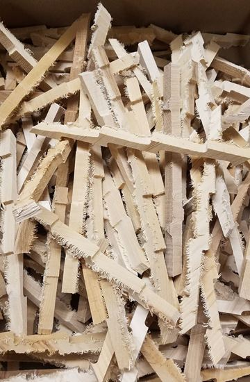 Hickory Lightning Bolts - Hickory wood for Aging and Smoking (4oz)