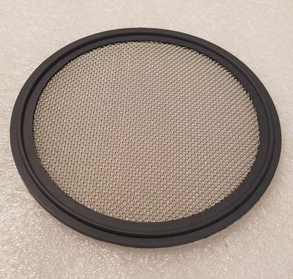 """Stainless Mesh (#20) 3"""" Tri Clover (Tri Clamp) Viton Distilling Gasket for Infusions and Herb/packing plate"""